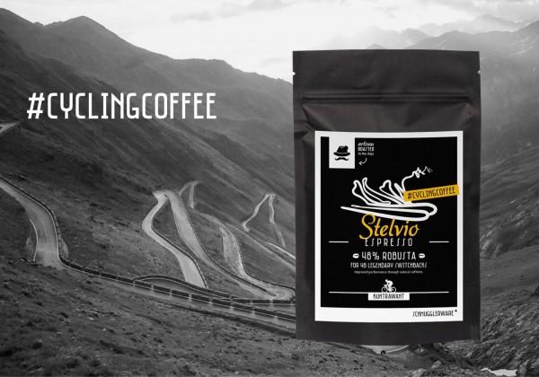 "Stelvio Espresso ""Cycling Coffee"" (Ganze Bohne)"