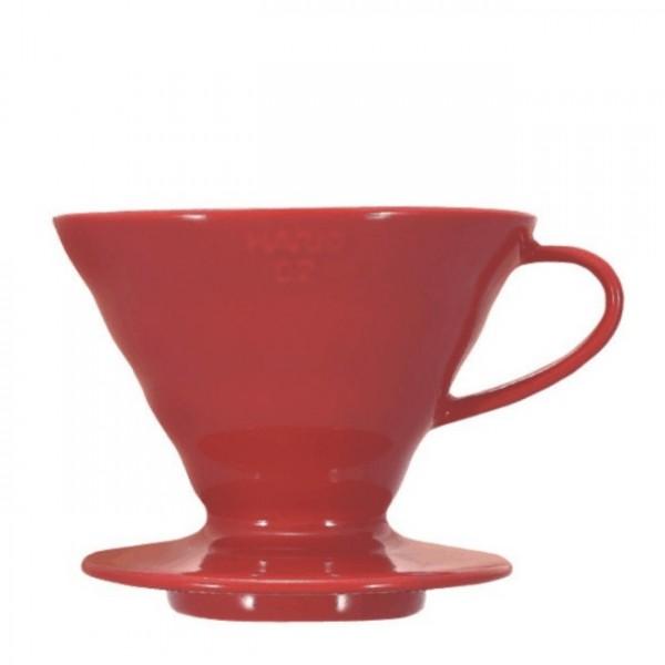 Coffee Dripper V60 02 Ceramic Red