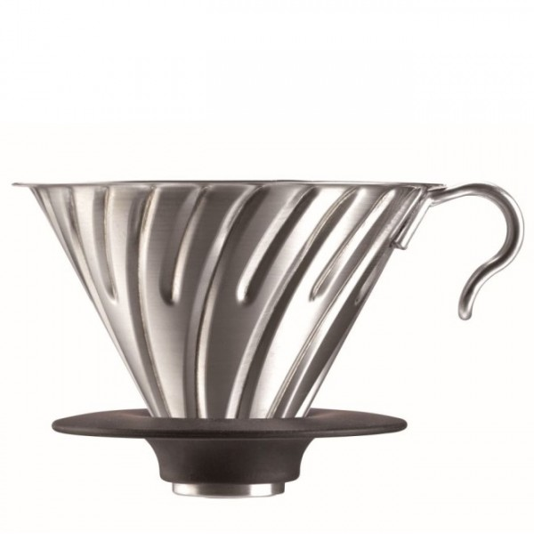 Hario V60 Metal Dripper Stainless Steel caffé filtro